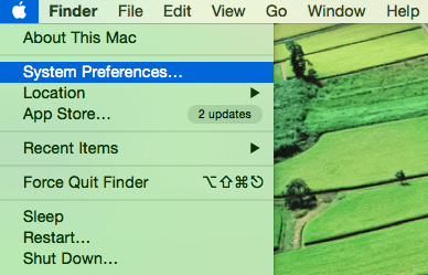 doi dns cho mac os khi vao system preferences