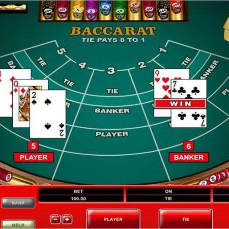 Cách chơi Baccarat tại các sòng Casino trực tuyến