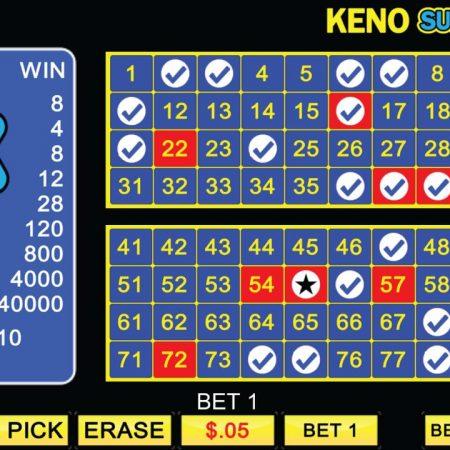 Hướng dẫn cách chơi Keno chắc thắng tại nhà cái Sbobet
