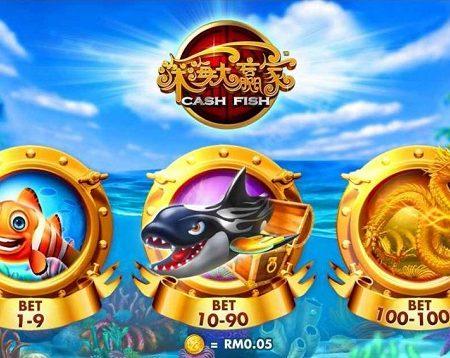 Hướng dẫn chơi game bắn cá Cash fish hiệu quả tại M88