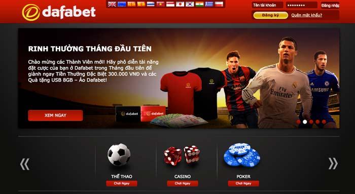 dafabet voi giao dien website de su dung thanh thien