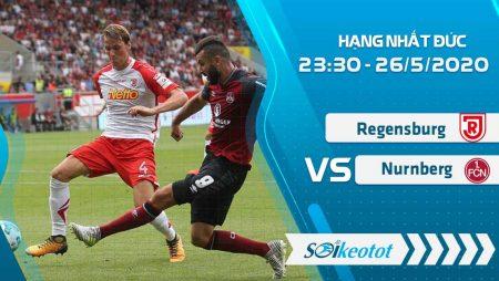 W88 Dự đoán Regensburg vs Nurnberg lúc 23h30 ngày 26/5/2020
