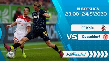 W88 Dự đoán FC Koln vs Dusseldorf lúc 23h ngày 24/5/2020