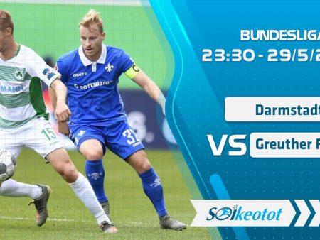 W88 Dự đoán Darmstadt vs Greuther Furth lúc 23h30 ngày 29/5/2020