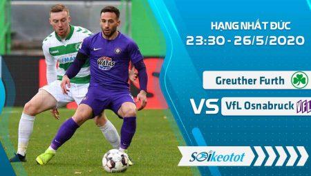 W88 Dự đoán Greuther Furth vs VfL Osnabruck lúc 23h30 ngày 26/5/2020