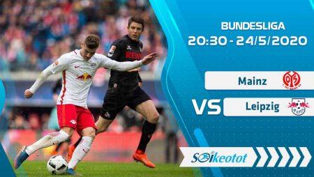 W88 Dự đoán Mainz vs RB Leipzig lúc 20h30 ngày 24/5/2020