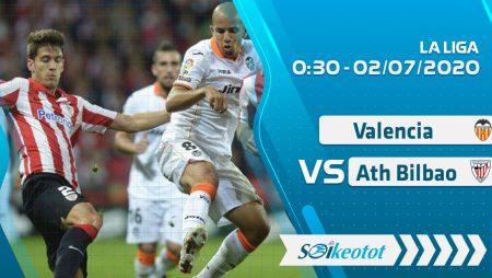 W88 Dự đoán Valencia vs Ath Bilbao lúc 0h30 ngày 2/7/2020