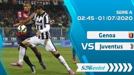 W88 Dự đoán Genoa vs Juventus lúc 2h45 ngày 1/7/2020