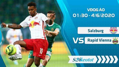 W88 Dự đoán Salzburg vs Rapid Vienna lúc 1h30 ngày 4/6/2020
