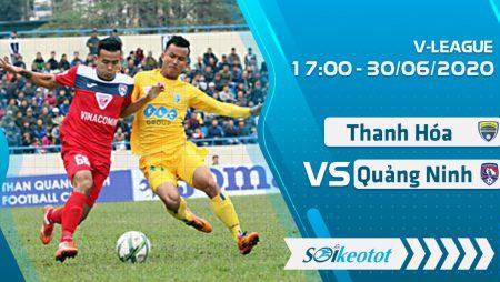W88 Dự đoán Thanh Hóa vs Than Quảng Ninh lúc 17h ngày 30/6/2020
