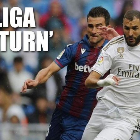 La Liga chính thức công bố lịch đấu, đá liên tục từ 11 tới 18/6 – Nhà Cái M88