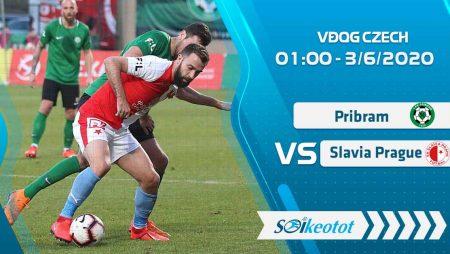 W88 Dự đoán Pribram vs Slavia Prague lúc 1h ngày 3/6/2020
