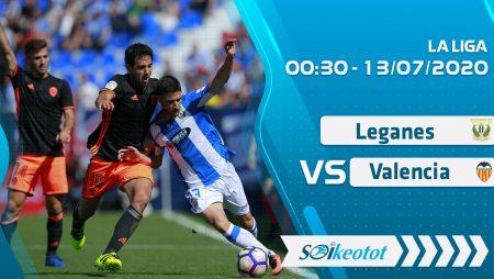 W88 Dự đoán Leganes vs Valencia lúc 0h30 ngày 13/7/2020