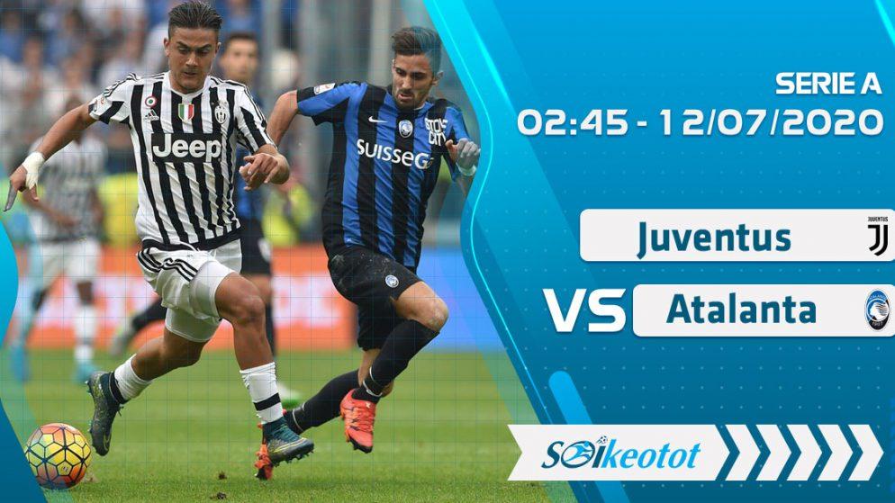 W88 Dự đoán Juventus vs Atalanta lúc 2h45 ngày 12/7/2020