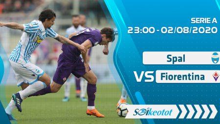 W88 Dự đoán SPAL vs Fiorentina lúc 23h ngày 2/8/2020