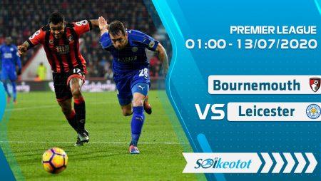 W88 Dự đoán Bournemouth vs Leicester lúc 1h ngày 13/7/2020