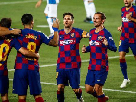 Bảng xếp hạng La Liga vòng 36: Barcelona chỉ còn kém Real Madrid 1 điểm – Nhà Cái M88
