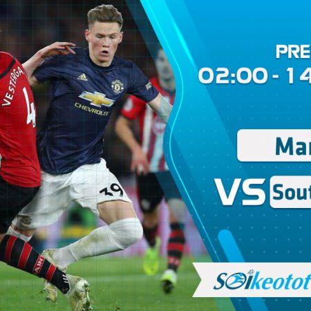 W88 Dự đoán Manchester Utd vs Southampton lúc 2h ngày 14/7/2020