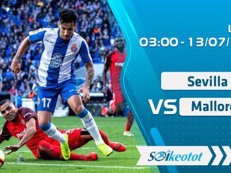W88 Dự đoán Sevilla vs Mallorca lúc 3h ngày 13/7/2020