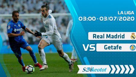 W88 Dự đoán Real Madrid vs Getafe lúc 3h ngày 3/7/2020