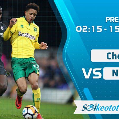 W88 Dự đoán Chelsea vs Norwich lúc 2h15 ngày 15/7/2020