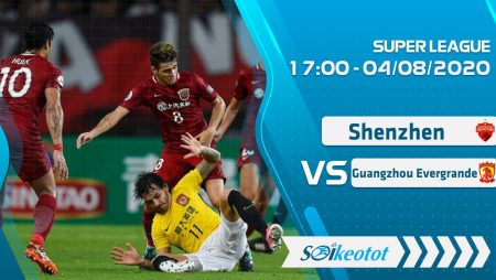W88 Dự đoán Shenzhen vs Guangzhou Evergrande lúc 17h ngày 4/8/2020