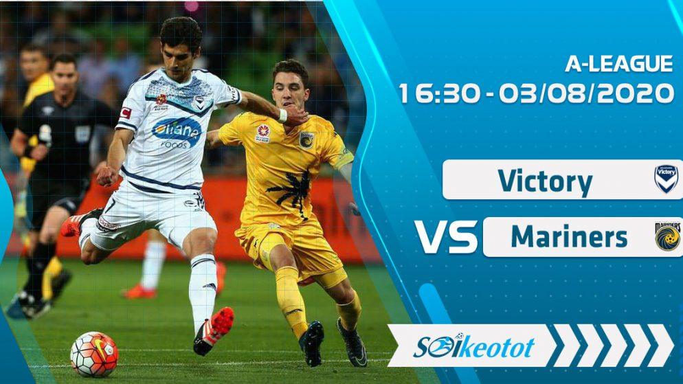 W88 Dự đoán Melbourne Victory vs Central Coast Mariners lúc 16h30 ngày 3/8/2020