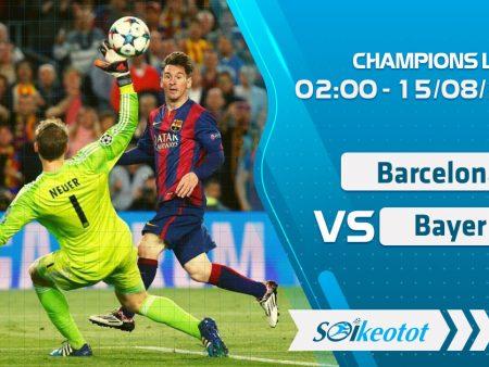 W88 Dự đoán Barcelona vs Bayern Munich lúc 2h ngày 15/8/2020