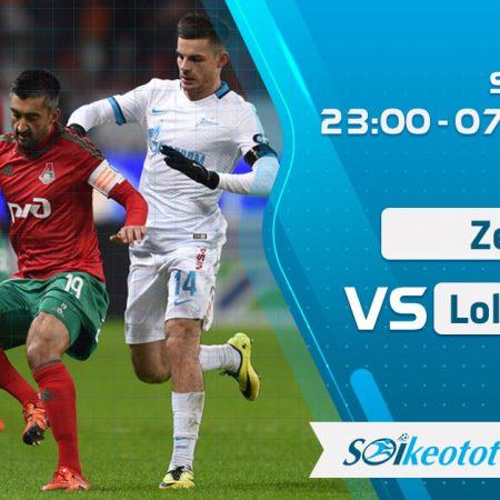 W88 Dự đoán Zenit vs Lokomotiv Moscow lúc 23h ngày 7/8/2020