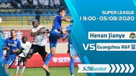 W88 Dự đoán Henan Jianye vs Guangzhou R&F lúc 19h ngày 5/8/2020