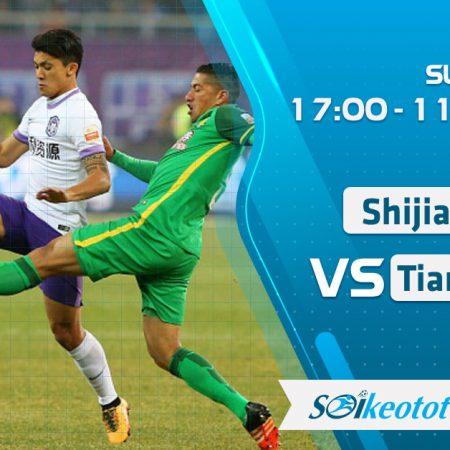 W88 Dự đoán Shijiazhuang vs Tianjin Teda lúc 17h ngày 11/8/2020