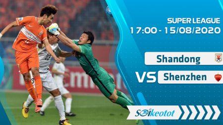 W88 Dự đoán Shandong Luneng vs Shenzhen lúc 17h ngày 15/8/2020