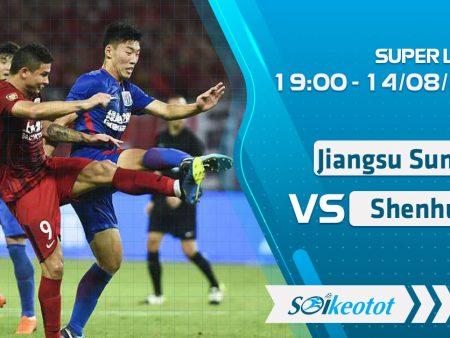 W88 Dự đoán Jiangsu Suning vs Shanghai Shenhua lúc 19h ngày 14/8/2020