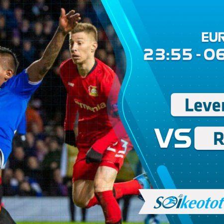 W88 Dự đoán Bayer Leverkusen vs Rangers lúc 23h55 ngày 6/8/2020