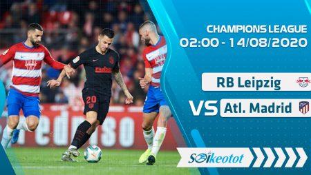 W88 Dự đoán RB Leipzig vs Atletico Madrid lúc 2h ngày 14/8/2020
