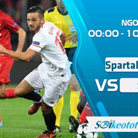 W88 Dự đoán Spartak Moscow vs Sochi lúc 0h ngày 10/8/2020
