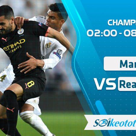 W88 Dự đoán Manchester City vs Real Madrid lúc 2h ngày 8/8/2020