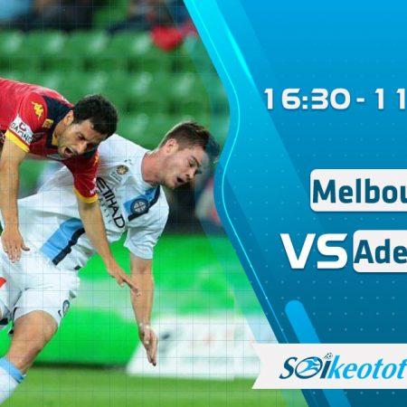 W88 Dự đoán Melbourne City vs Adelaide United lúc 16h30 ngày 11/8/2020