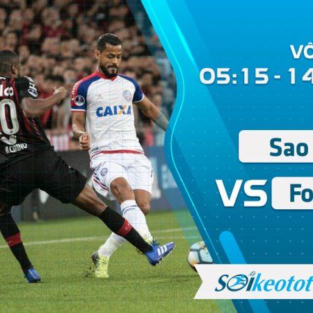 W88 Dự đoán Sao Paulo vs Fortaleza lúc 5h15 ngày 14/8/2020