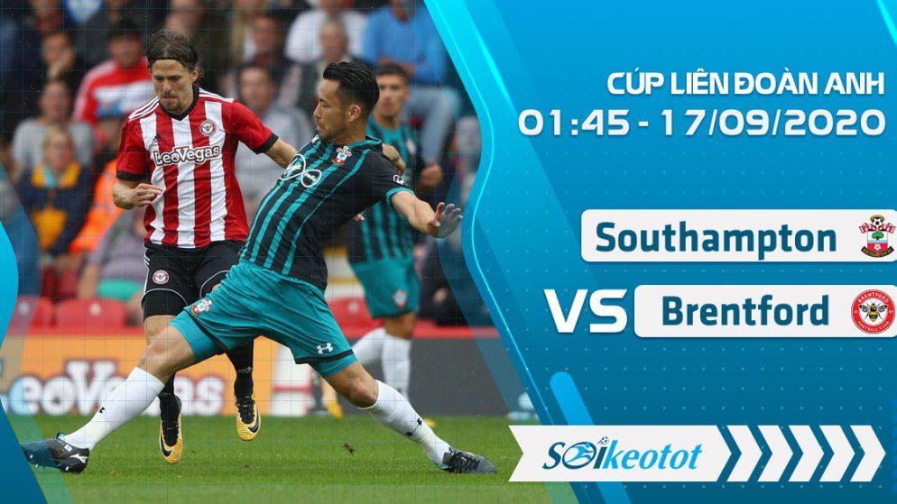 W88 Dự đoán Southampton vs Brentford lúc 1h45 ngày 17/9/2020