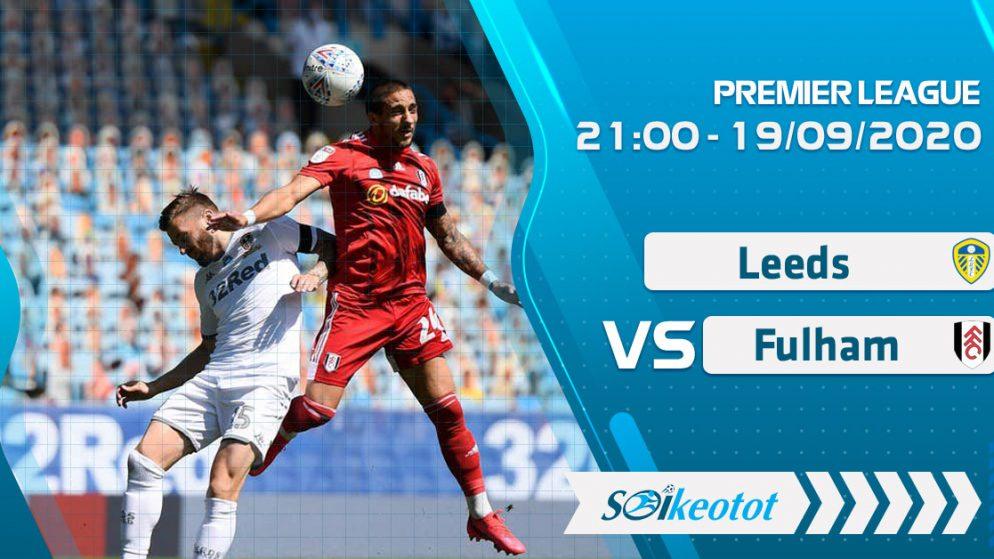 W88 Dự đoán Leeds vs Fulham lúc 21h ngày 19/9/2020