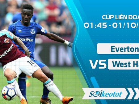 W88 Dự đoán Everton vs West Ham lúc 1h45 ngày 1/10/2020
