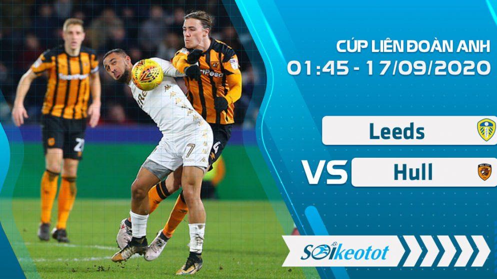 W88 Dự đoán Leeds vs Hull lúc 1h45 ngày 17/9/2020