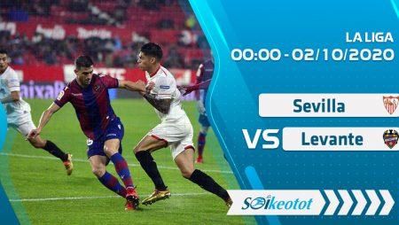 W88 Dự đoán Sevilla vs Levante lúc 0h ngày 2/20/2020