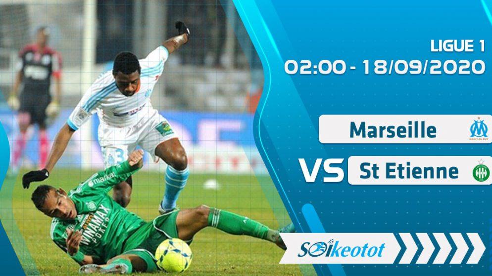 W88 Dự đoán Marseille vs St Etienne lúc 2h ngày 18/9/2020