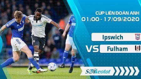 W88 Dự đoán Ipswich vs Fulham lúc 1h ngày 17/9/2020