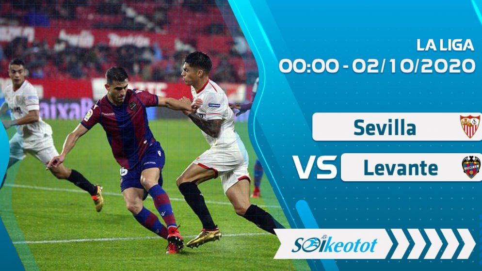 W88 Dự đoán Sevilla vs Levante lúc 0h ngày 2/10/2020