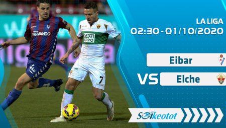 W88 Dự đoán Eibar vs Elche lúc 2h30 ngày 1/10/2020