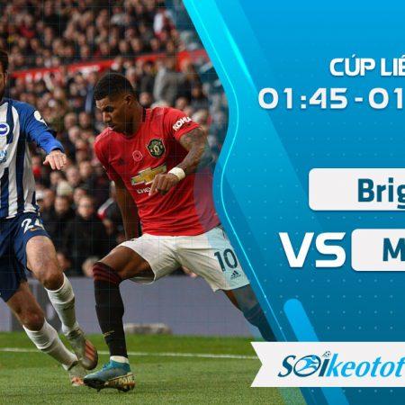 W88 Dự đoán Brighton vs Manchester Utd lúc 1h45 ngày 1/10/2020