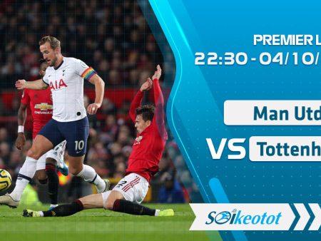 W88 Dự đoán Manchester Utd vs Tottenham lúc 22h30 ngày 4/10/2020